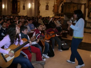Guitarras misa Zagales