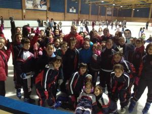 Grupo patinaje